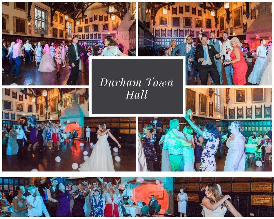 Durham Town Hall Wedding DJ