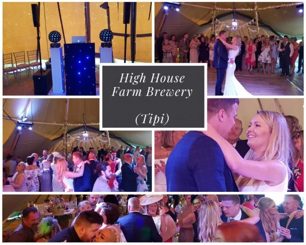 High House Farm Brewer Wedding DJ
