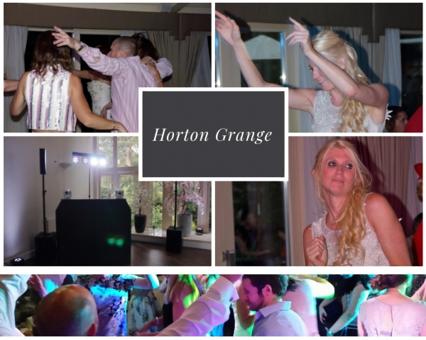 Horton Grange Wedding DJ