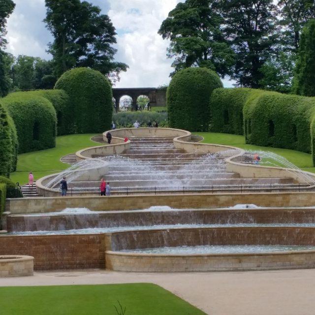Alnwick Gardens Water Cascade