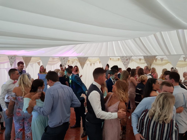 High House Farm Brewery Wedding DJ and Disco