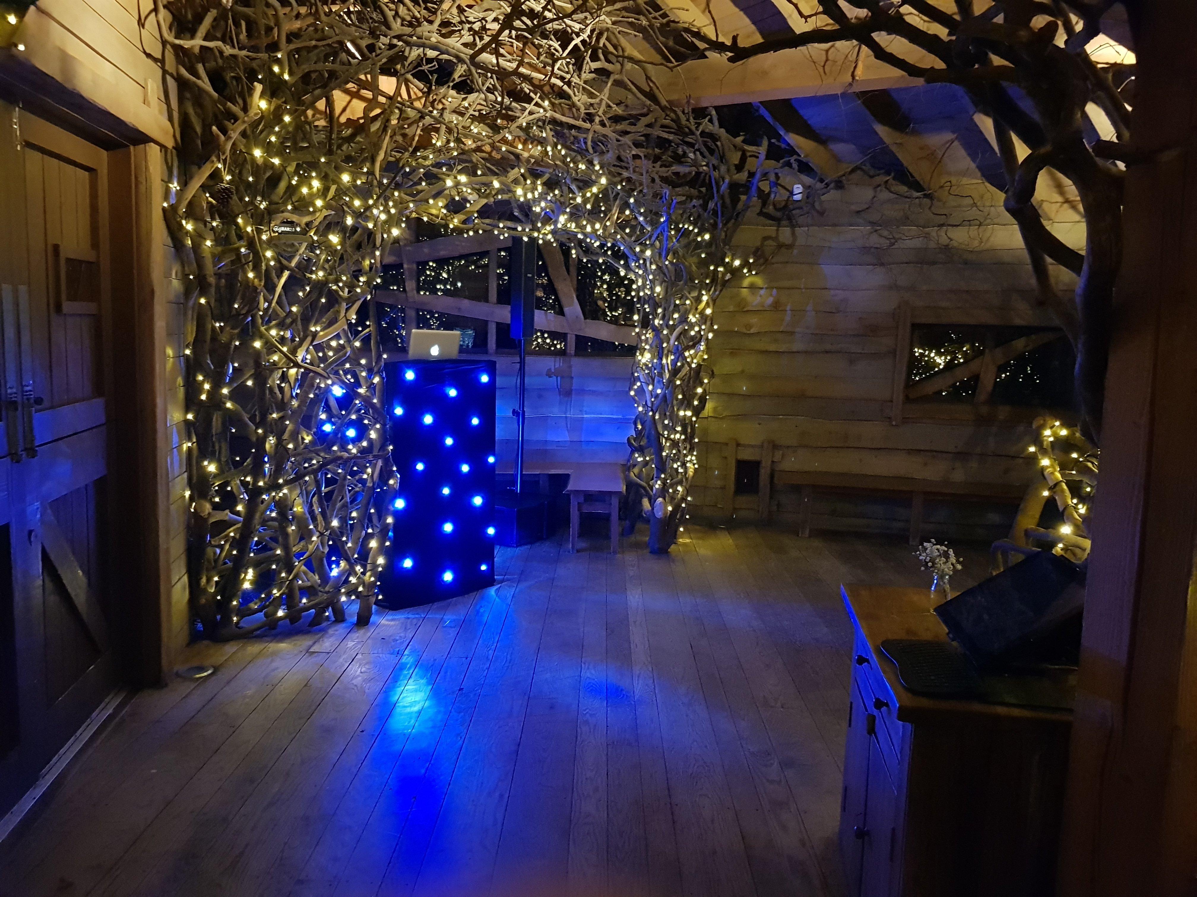Alnwick Treehouse Wedding DJ
