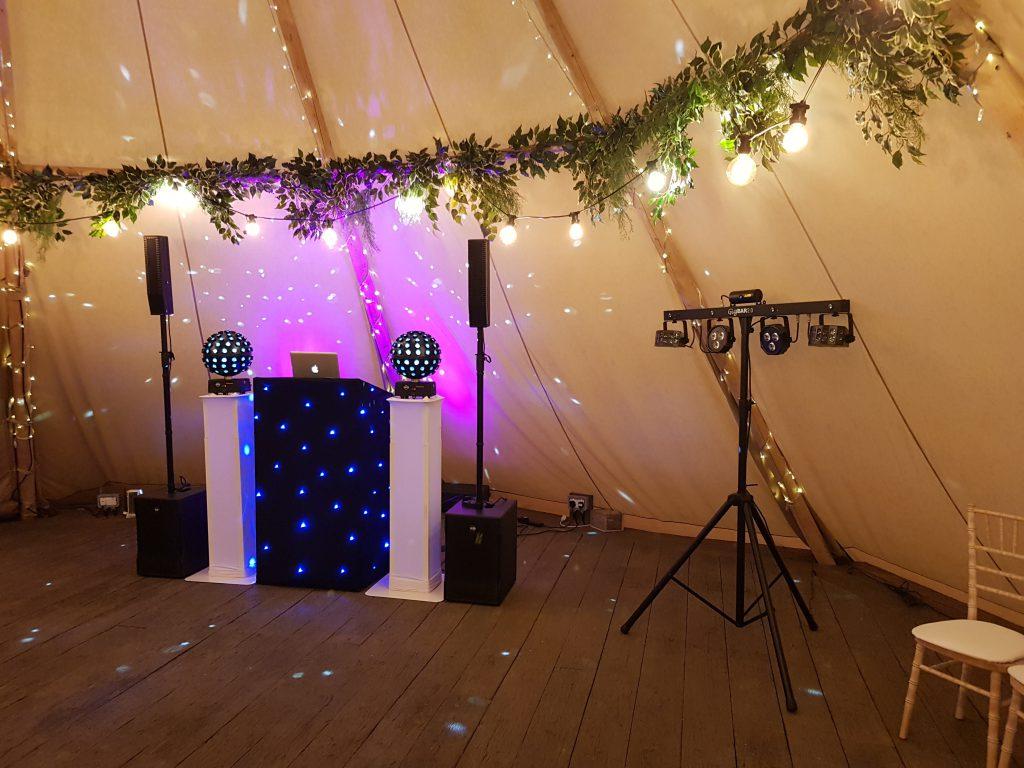 Woodhill Hall DJ Setup