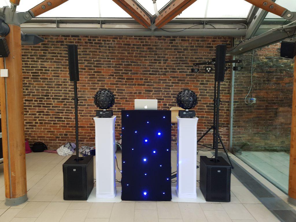 Stylish Disco Setup
