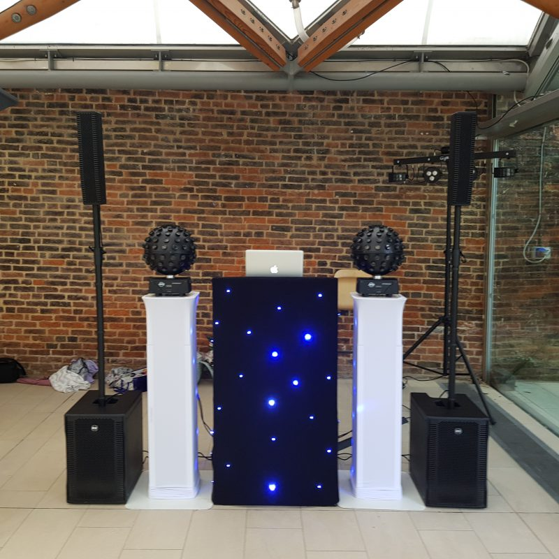 Stylish Disco Setup